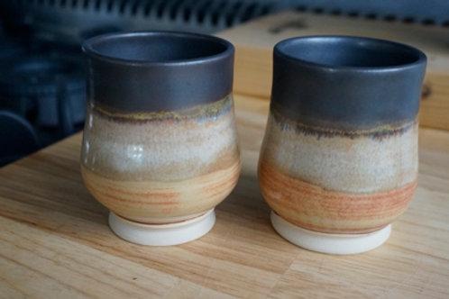 Wine Globe - Coffee & Cream - set of 2