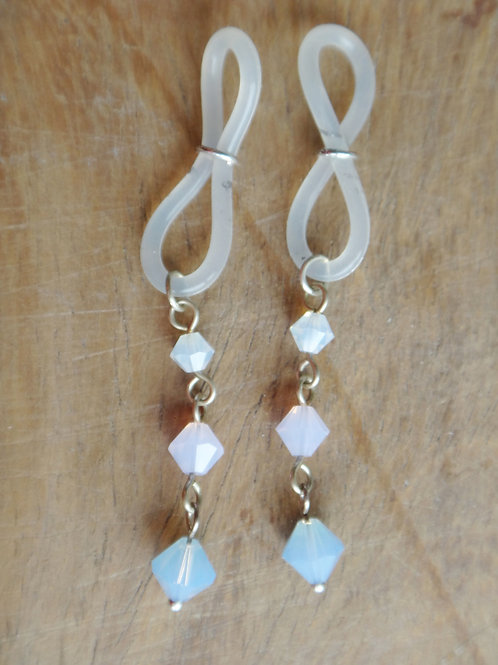 Nipple Dangles; Shades of Opal