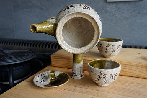 Japanese Style Tea Set - Oribe