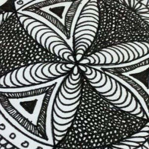 ART 8/16/21: Sketchbook & Zentangles