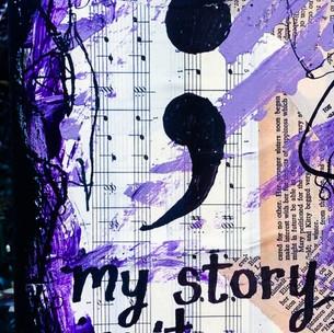 ART 8/30/21: Visual Journal Background