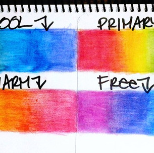 ART 11/30- 12/01: Blending Colors