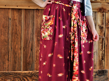 """Justine"" by Ready to Sew Skirt Review"