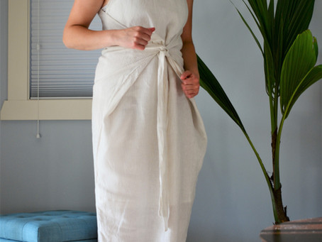 Linen Kielo Wrap Dress
