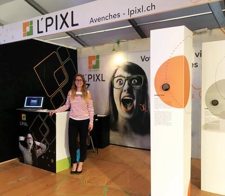 L'Pixl - Stand