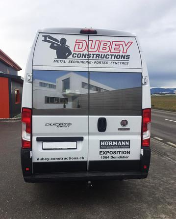 Dubey - Véhicule Arrière