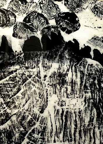 Otherworldliness Collage of Monoprints I