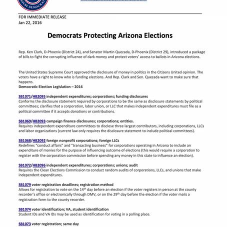 Democrats Protecting Arizona Elections