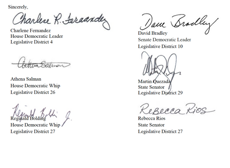 House and Senate Democrats letter opposing proposed federal rules changes on asylum