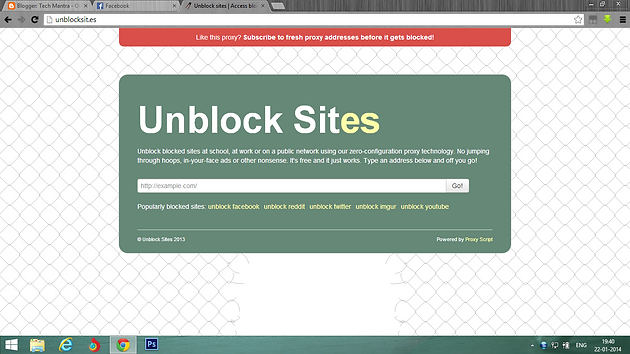 How to unblock youtube facebook ways to access blocked websites list of unblocking proxy websites ccuart Image collections