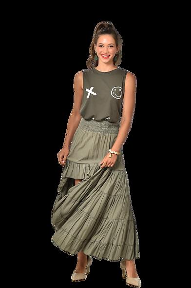 Green Move Skirt