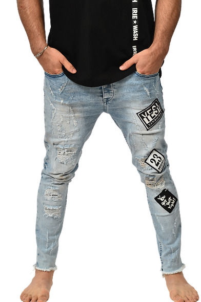 London Patch jeans