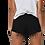 Thumbnail: Black Glamore short