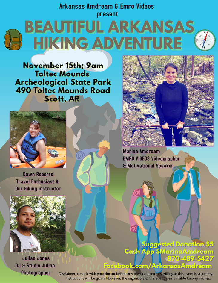 Beautiful Arkansas Hiking Adventure