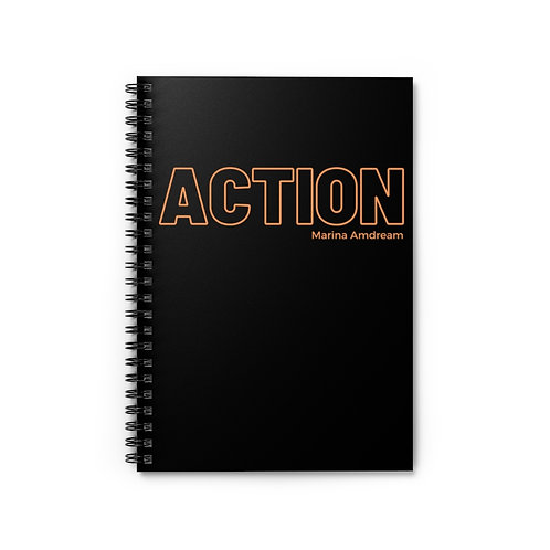 Action Spiral Notebook - Ruled Line