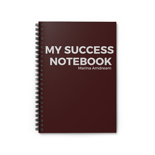 My Success Notebook Spiral Notebook - Ruled Line