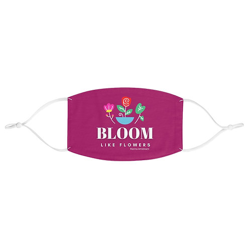 Bloom Like Flowers Face Mask