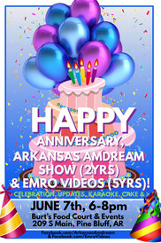 Arkansas Amdream & EMRO VIDEOS Party