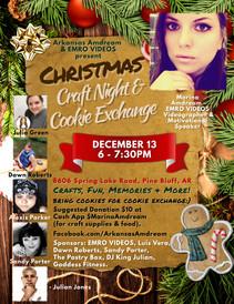Christmas Craft Night & Cookie Exchange
