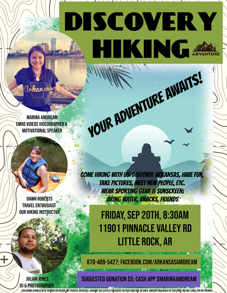 Discover Hiking in Arkansas