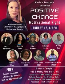 Positive Change Motivational Night