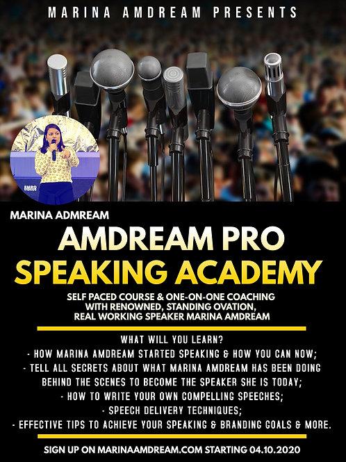 AMDREAM PRO SPEAKING ACADEMY