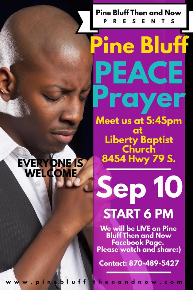 Pine Bluff Peace Prayer 2017