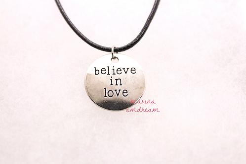 Believe In Love Necklace