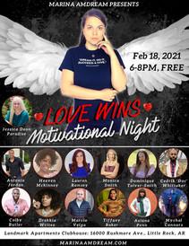 Love Wins Motivational Night 2021