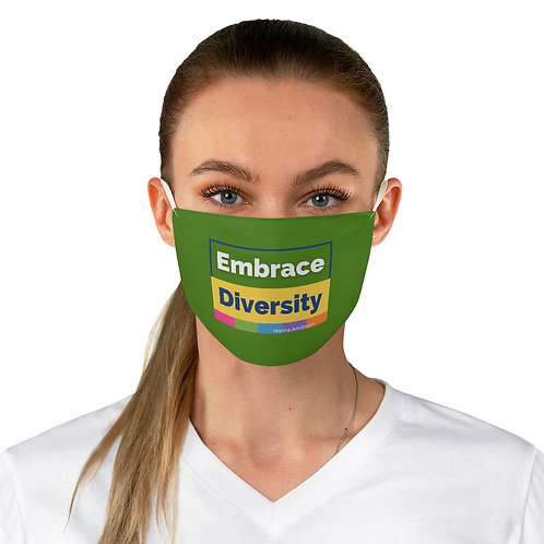 Embrace Diversity The Earth Face Mask