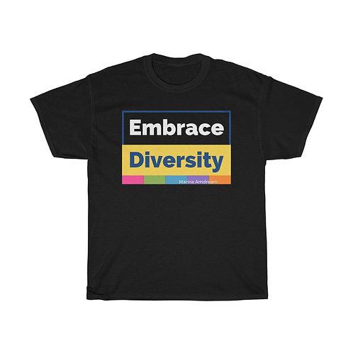 Embrace Diversity Heavy Cotton Tee