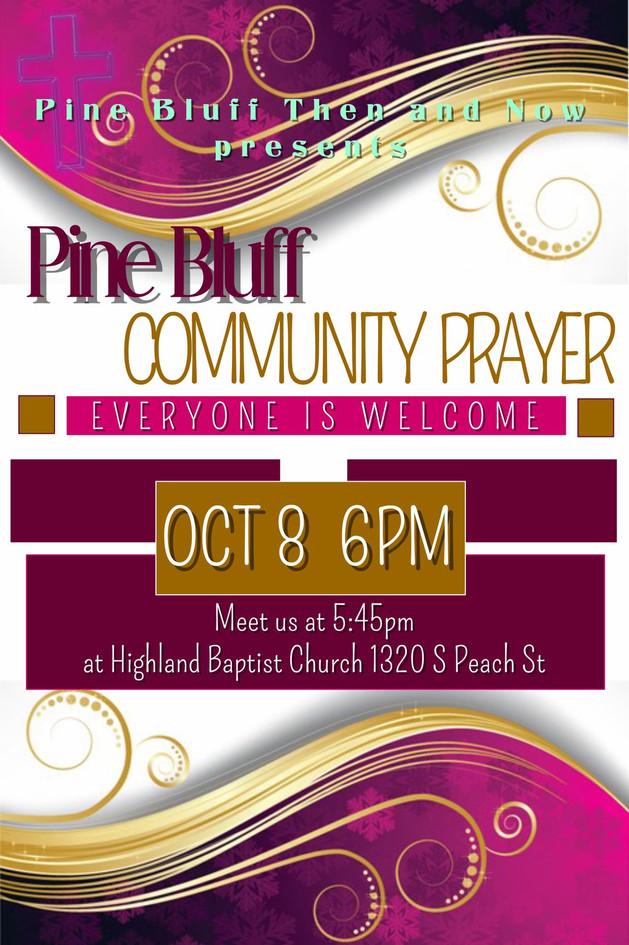 Pine Bluff Community Prayer