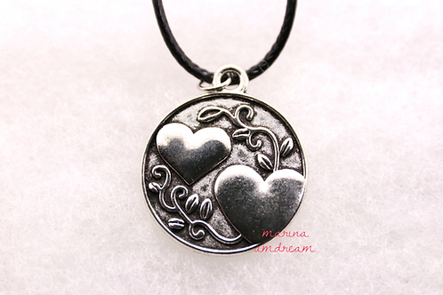 Two Sided Sister Necklace