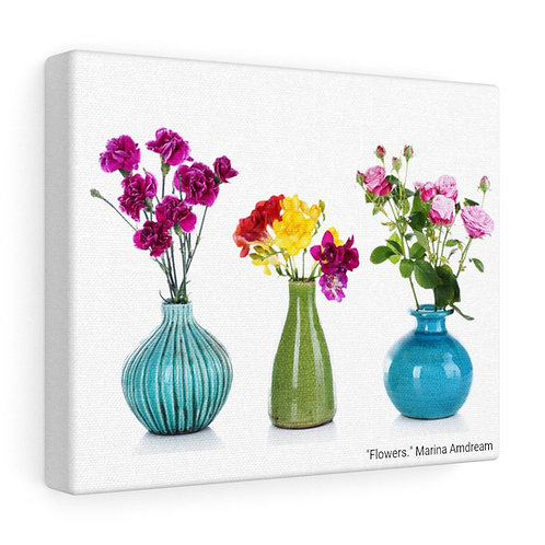 Flowers Canvas Gallery Wraps
