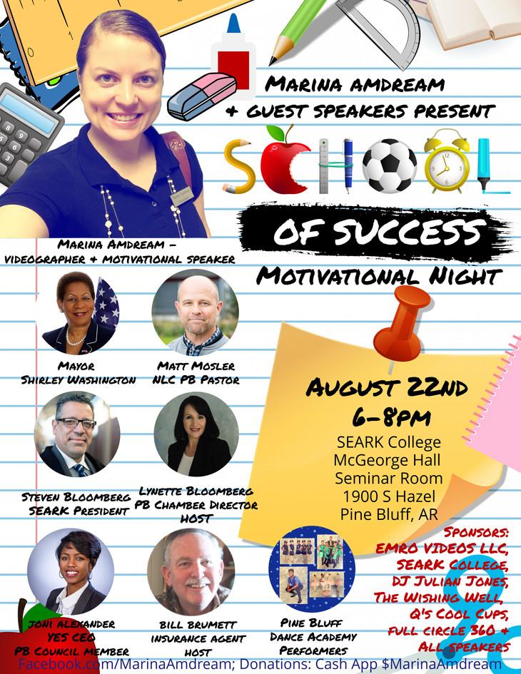 School Of Success Motivational Night