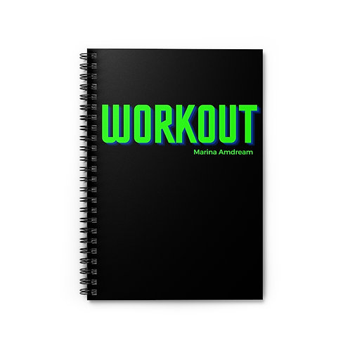Work Out Spiral Notebook - Ruled Line