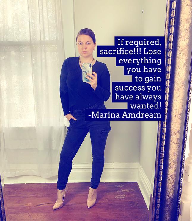 Sacrifice In Success