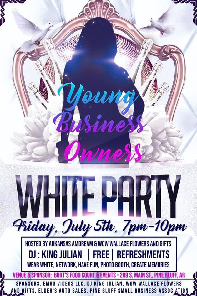 Young Business Owners White Party