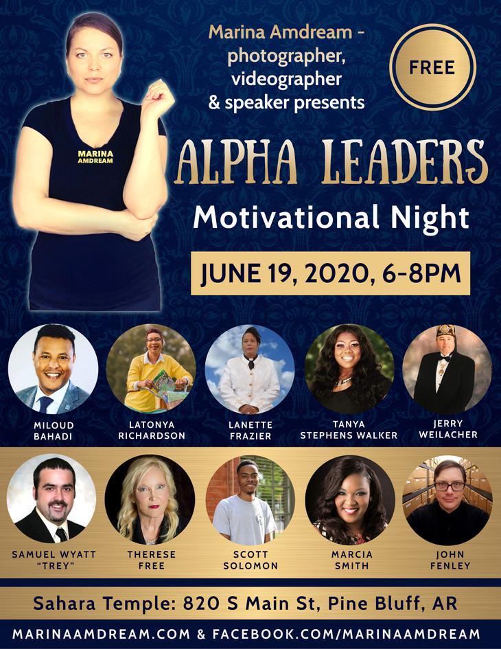 Alpha Leaders Motivational Night