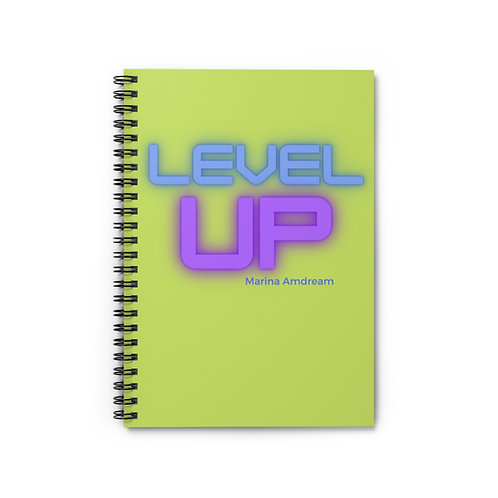 Level Up Spiral Notebook - Ruled Line