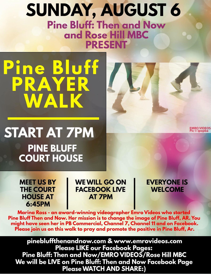 Pine Bluff Prayer Walk 2017