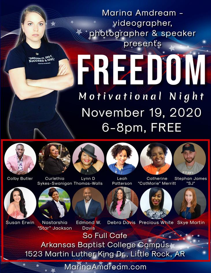 Freedom Motivational Night 2020