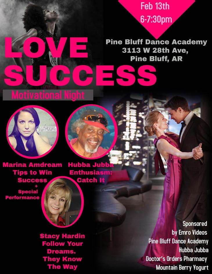 Love Success Motivational Night