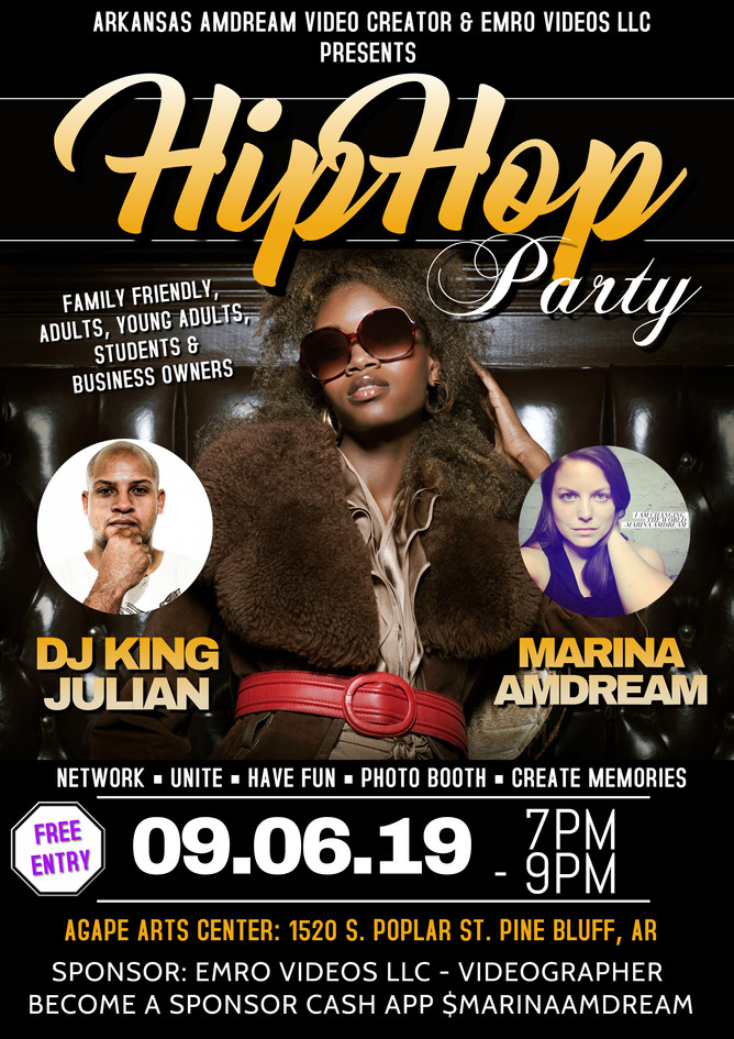 Family Friendly Hip Hop Party