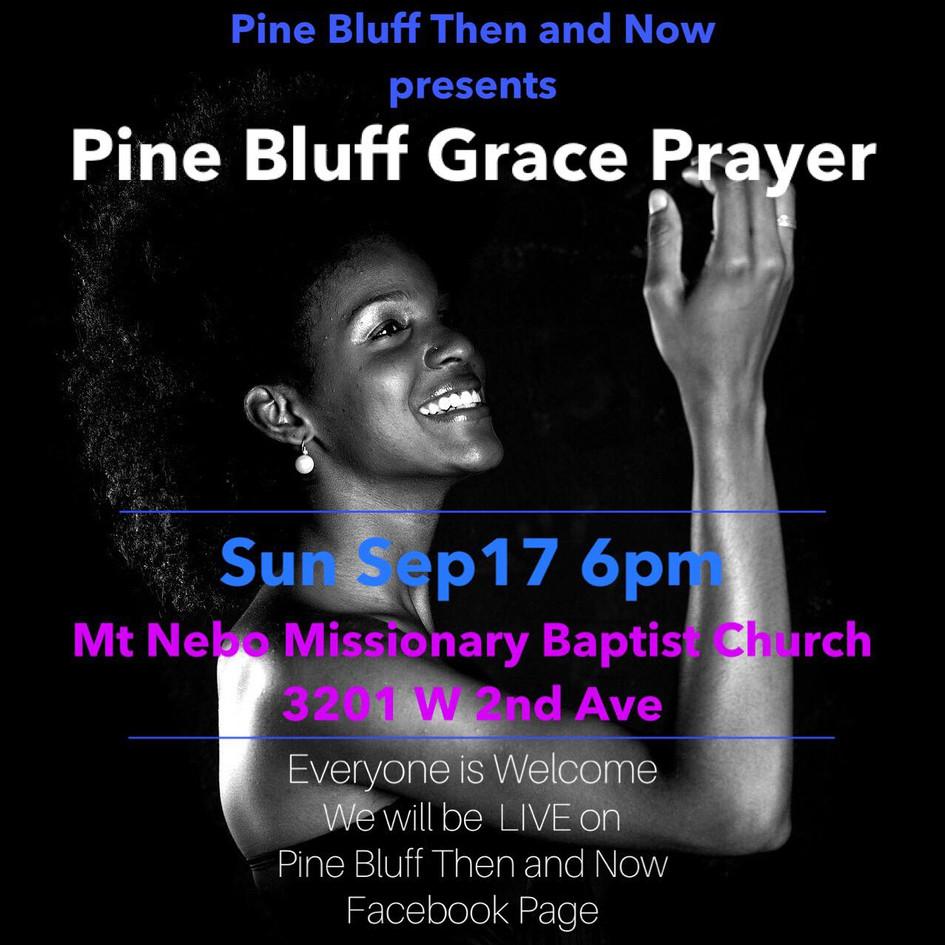 Pine Bluff Grace Prayer 2017