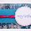 Thumbnail: Merry Christmas Blue Sparkle Card