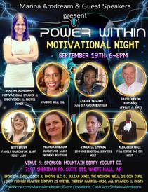 Power Within Motivational Night