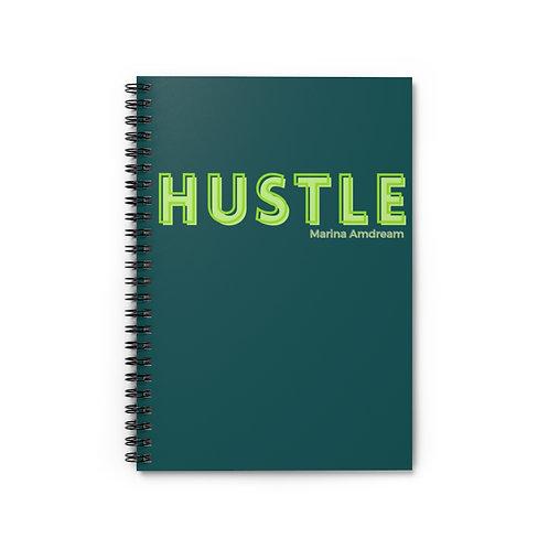 Hustle Spiral Notebook - Ruled Line
