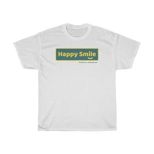 Happy Smile Heavy Cotton Tee