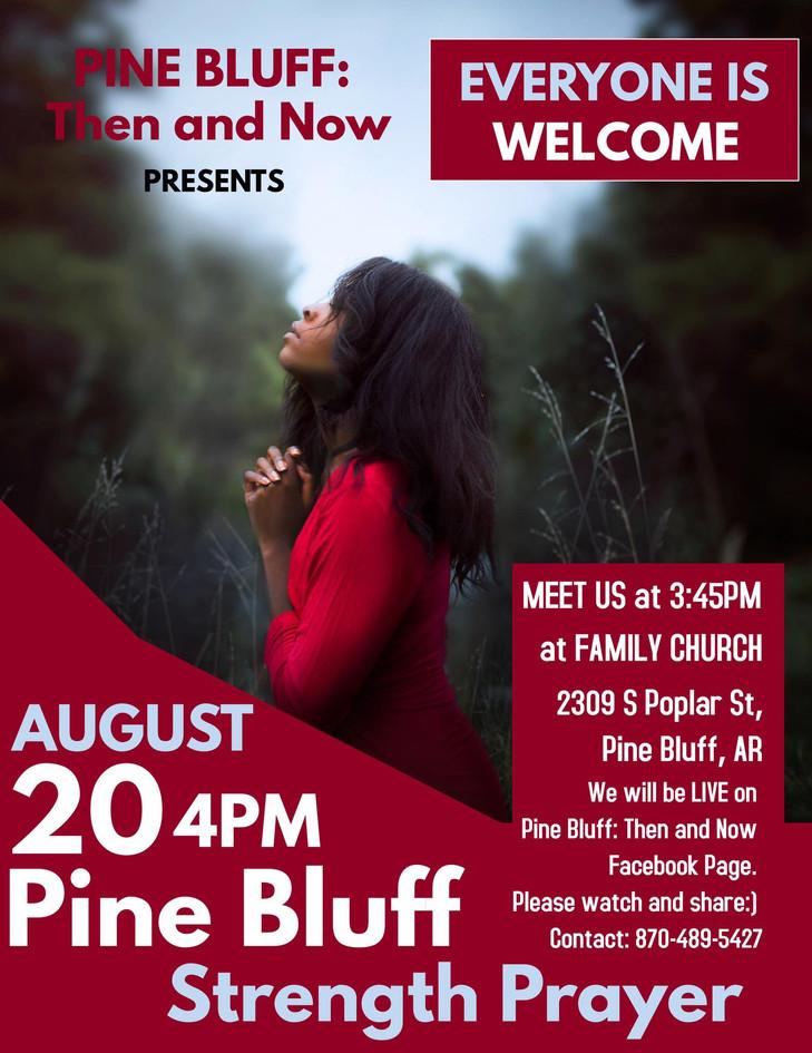 Pine Bluff Strength Prayer 2017
